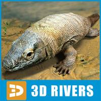 Ichthyostega by 3DRivers