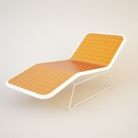 lounger chair sofa c4d