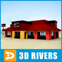 Pizza hut 03 by 3DRivers