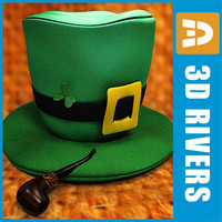 3ds saint patrick day pipe