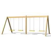 swing set 3d max