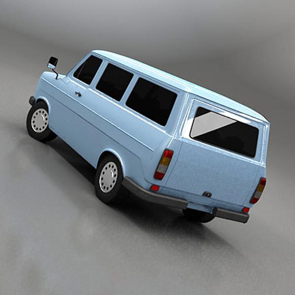 Vintage Minibus