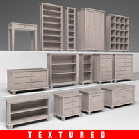 set of furniture v.2 - now textured