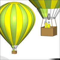 Hot Air Balloon 00555se