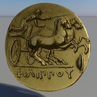 Object - Greek Gold Coin