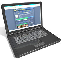 lap laptop 3d 3ds