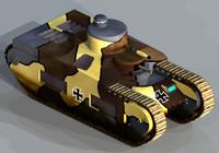 3d oberschlesien tank