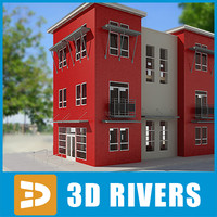 3ds max apartment building