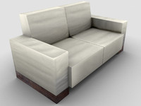 Sofa Low Poly