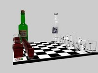 3d chess model
