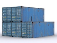 ship container 3d max