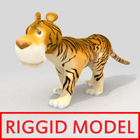 animation biped 3d model