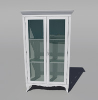 3d classic cupboard buffet model