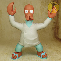 3d dr zoidberg