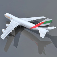3d b 747 model