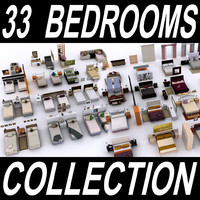Complete Bedroom Collection - Double and Single