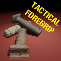 maya tactical foregrip