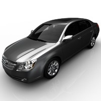 3d model toyota avalon limited