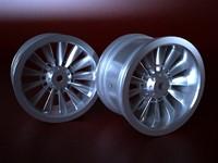 wheel rim spokes koncept-005 3d max