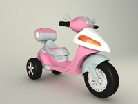 toy motorcycle 3d model