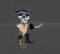 3D Pirate for 2D Games