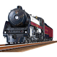 3d model royal hudson steam engine