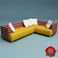 3d model sofa v5