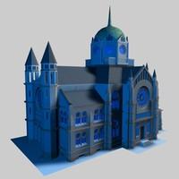 synagoge hannover 3d model