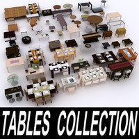 3d model table furniture