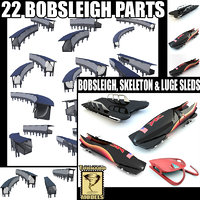 Bobsleigh Track parts + SLEDS Collection
