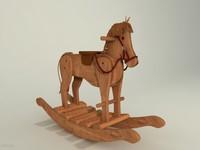 Wood horse-.rar