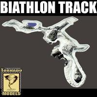 3d model biathlon track