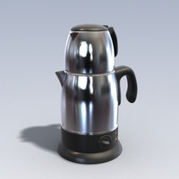photo realistic kettle