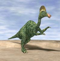 3d lws corythosaurus dinosaur