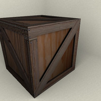 3d model res crate