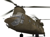 ch-47 chinook 3d max