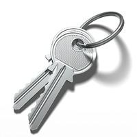 3d model of keys