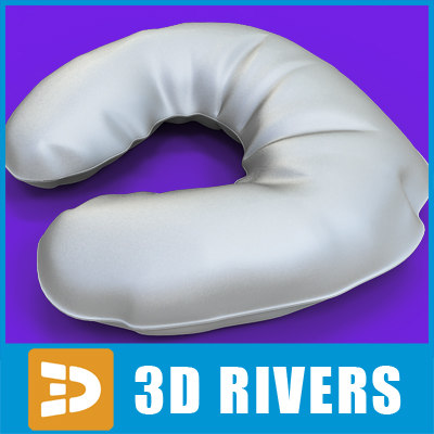 3d massage pillow model - Massage pillow by 3DRivers... by 3DRivers