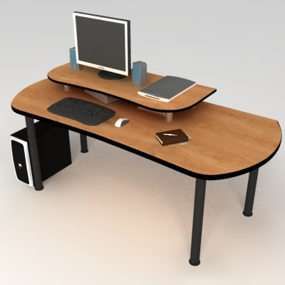 PC Office Desk 09