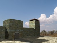 3ds tower turkish medieval fortress