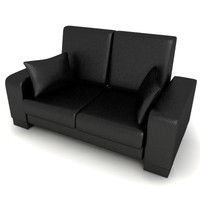 3d model office sofa
