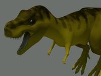 t-rex mesh 3d model