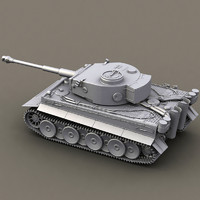 WWII german tank - tiger