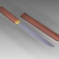 3d tanto knife