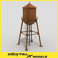 water tower 2 3d 3ds