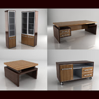 3d model felix diplomat office furniture