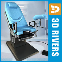 Gynaecological chair  by 3DRives