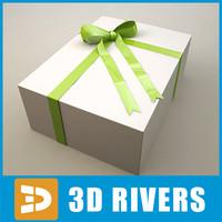 gift wrap 3d obj