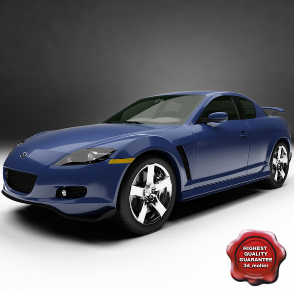 rx8 sport car 8 3d model - RX8 Sport car... by 3d_molier