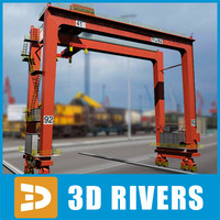 Overhead crane 03 by 3DRivers
